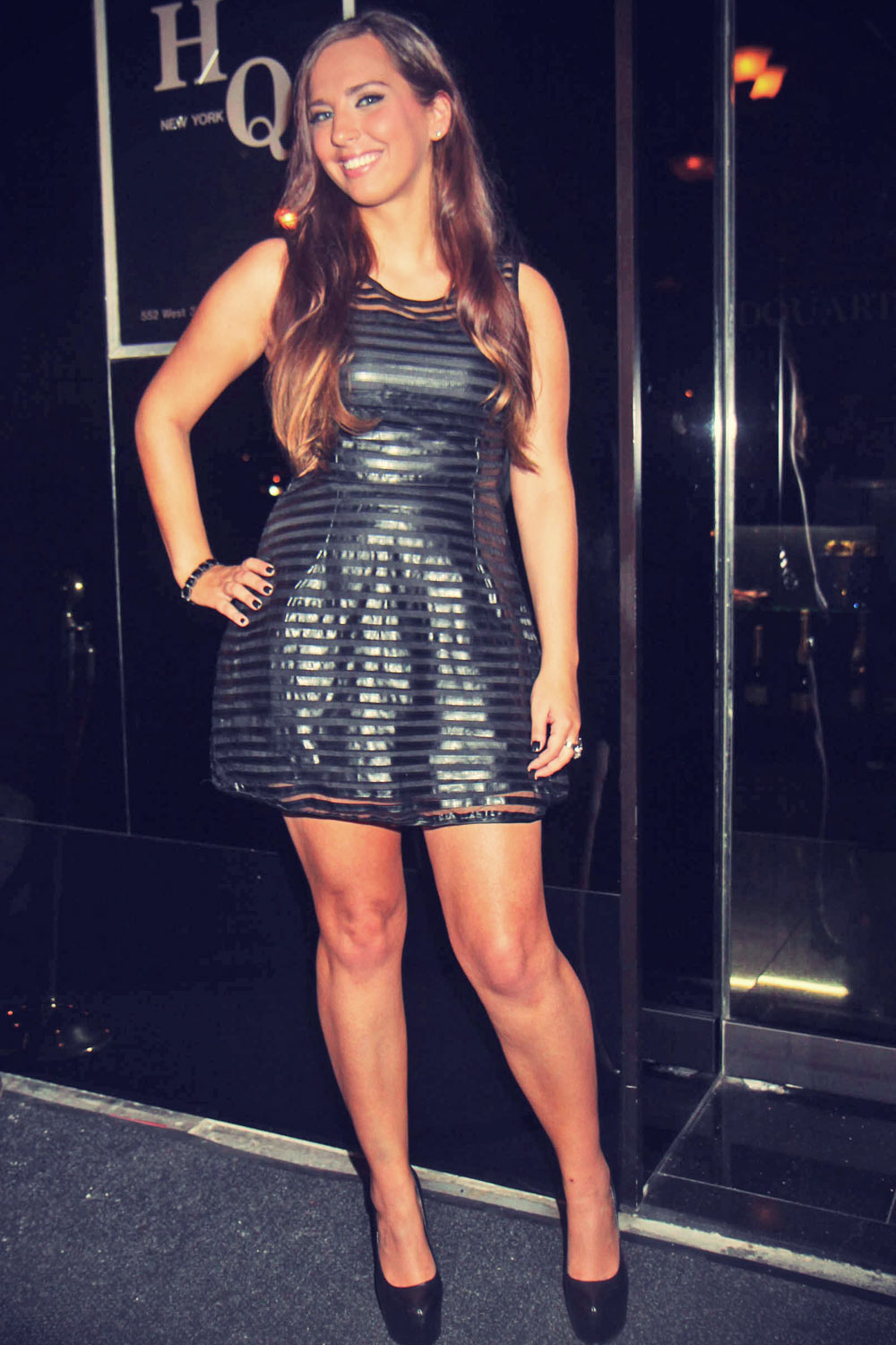 Sydney Leathers appears at HQ strip club