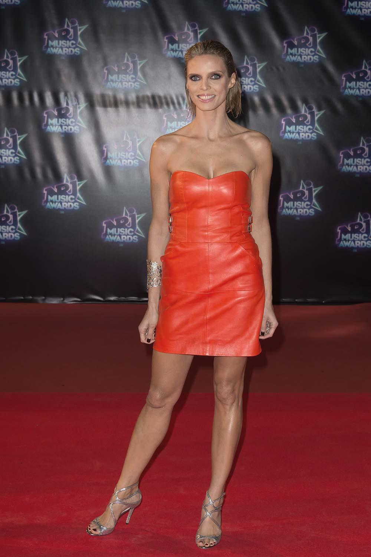 Sylvie Tellier at NRJ Music Awards