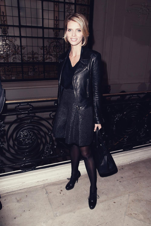 sylvie tellier attends paris fashion week
