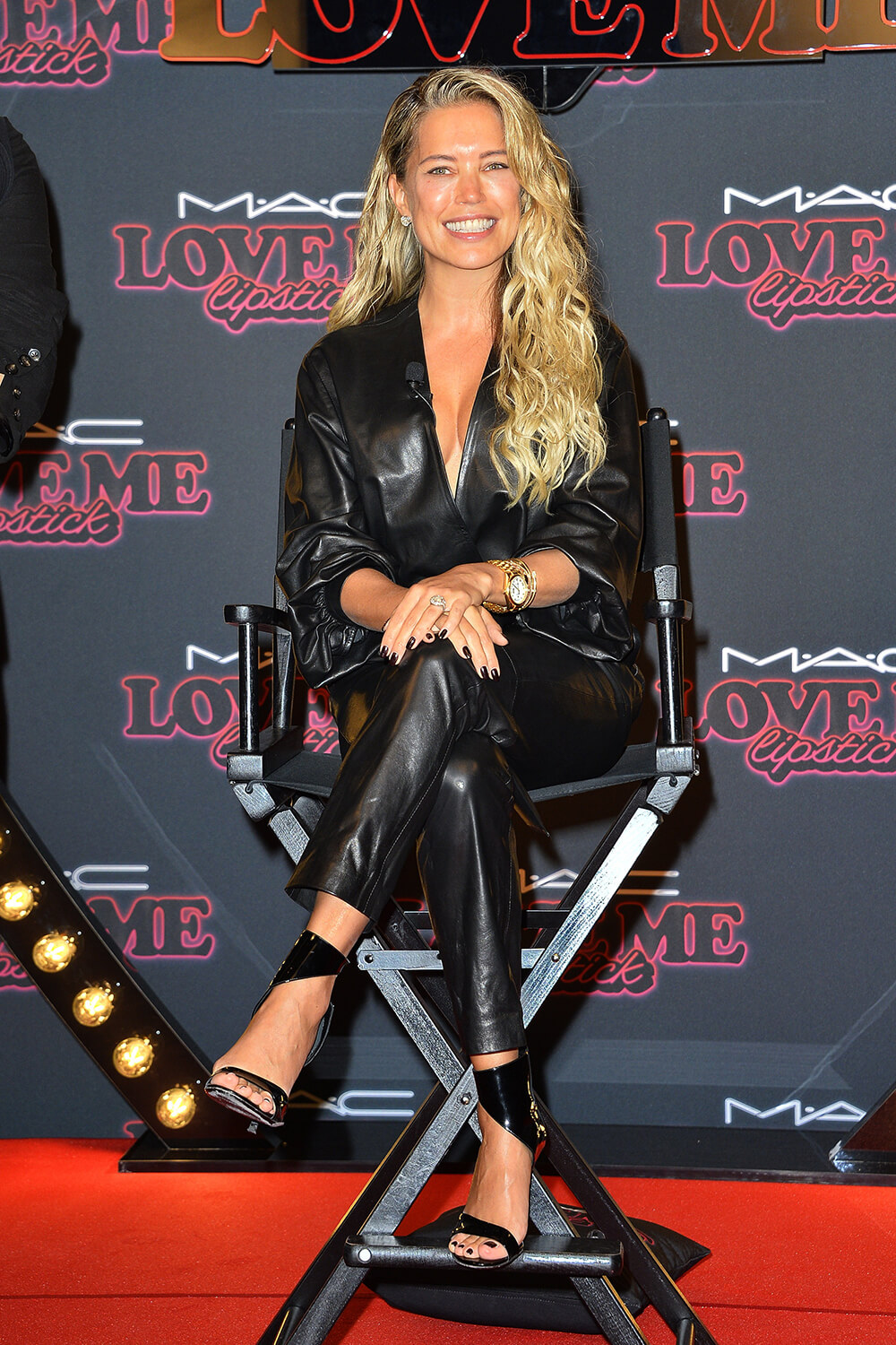 Sylvie Meis attends MAC Cosmetic Kunden Event