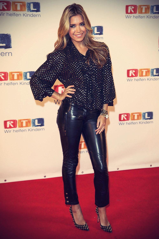 Sylvie van der Vaart attends the RTL Spendenmarathon