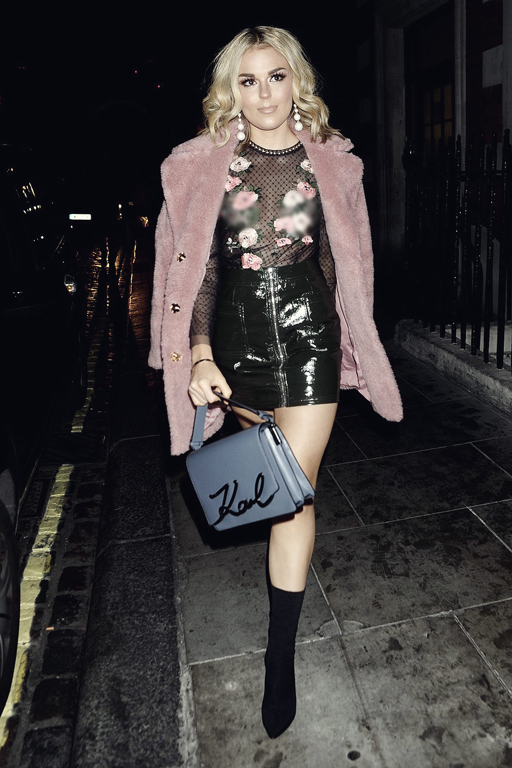 Tallia Storm seen in London