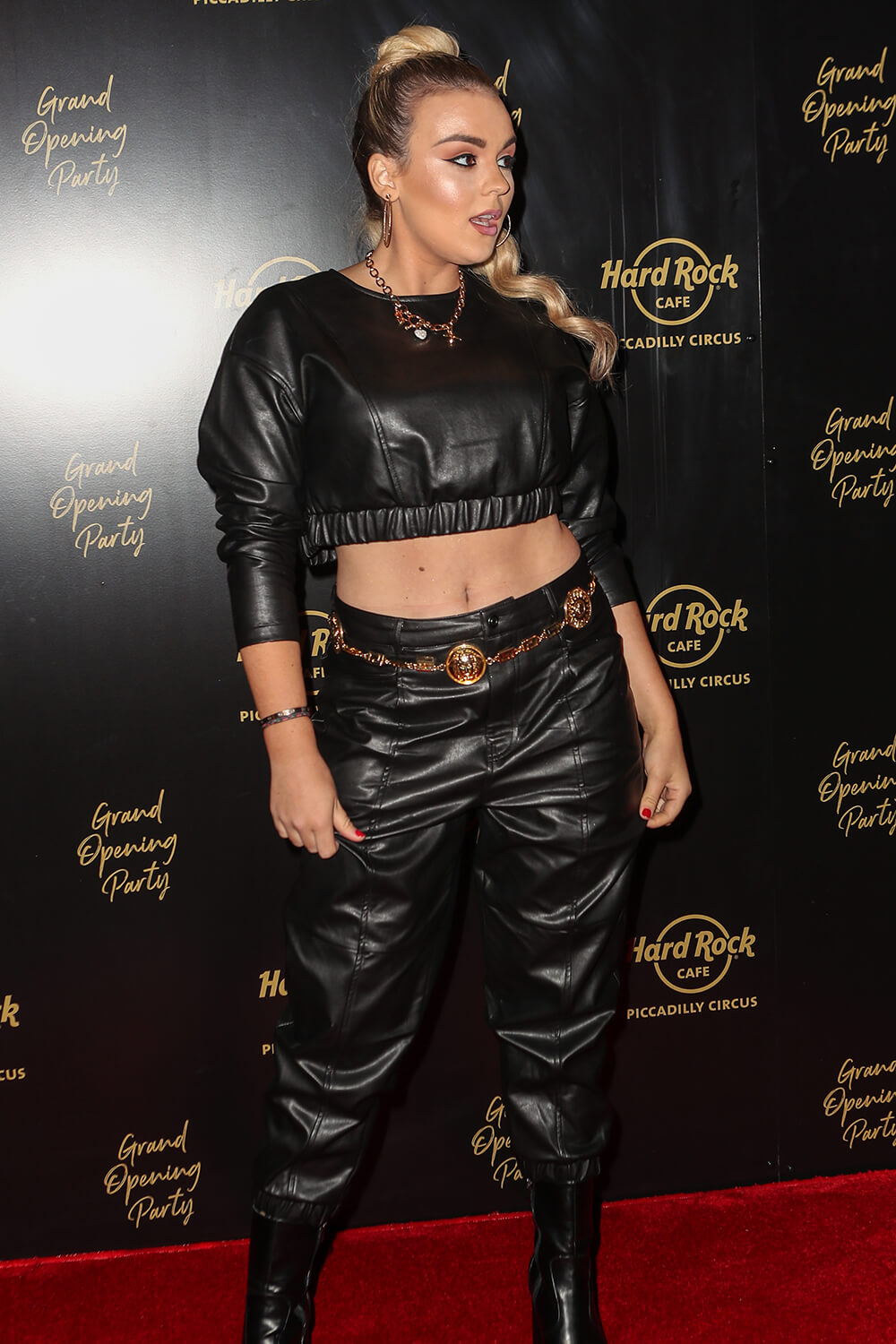 Tallia Storm attends Hard Rock Cafe Opening