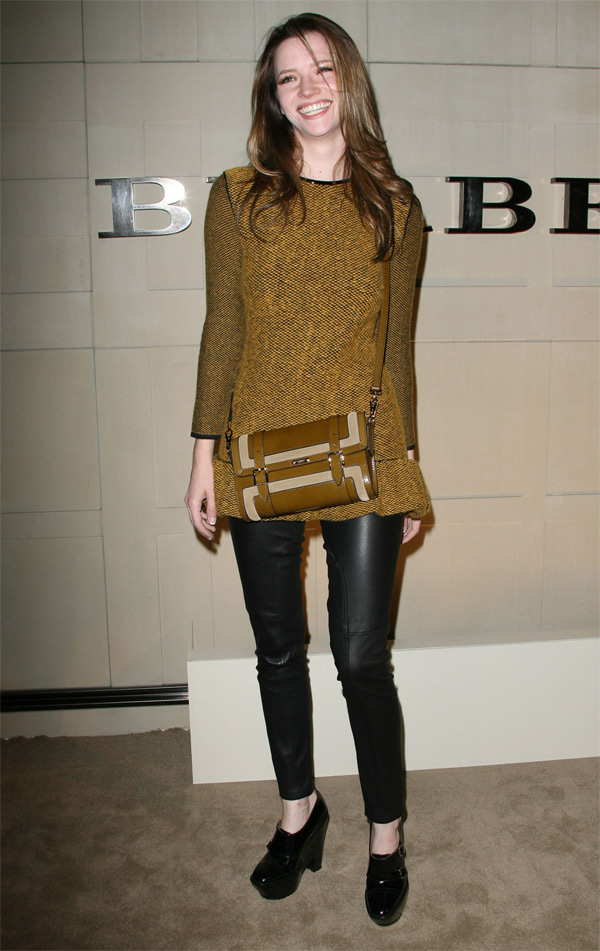 Talulah Riley at Burberry Body event