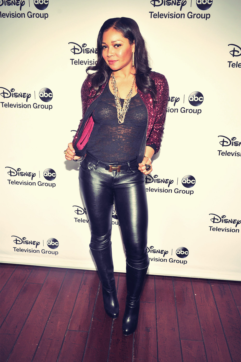 Tamala Jones Disney ABC 2013 Winter TCA Tour Party