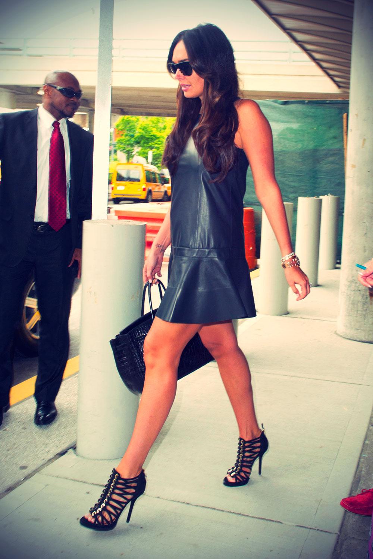 Tamara Ecclestone arrives at JFK airport