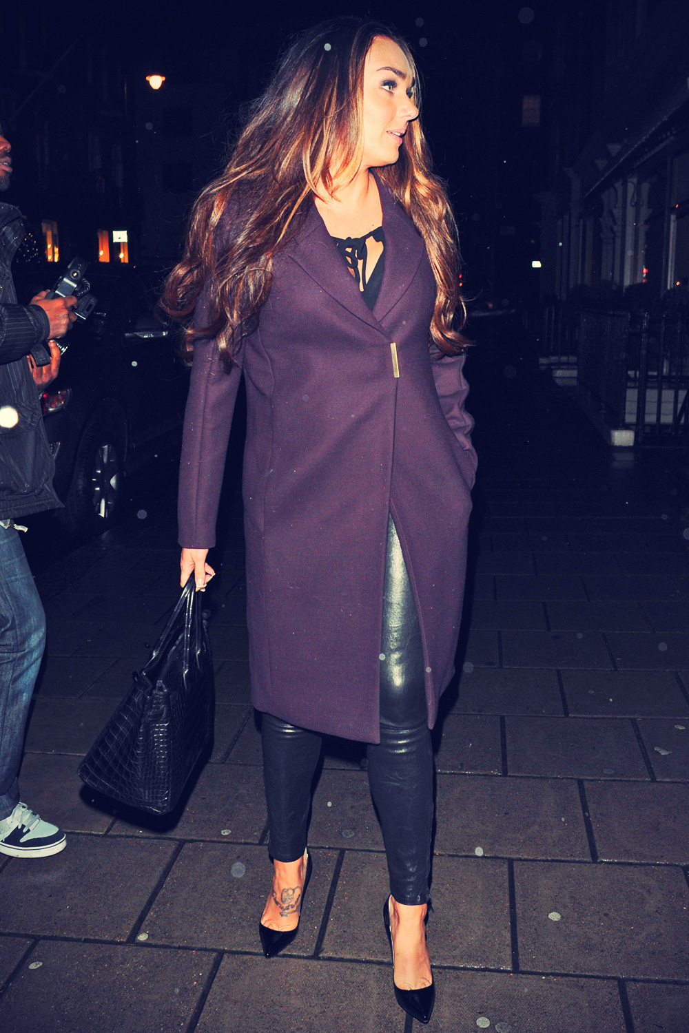 Tamara Ecclestone dine out in Mayfair