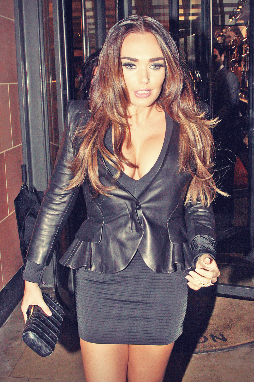 Tamara ecclestone leather pants tamara ecclestone leather dress tamara -  Tamara Ecclestone Blc Club