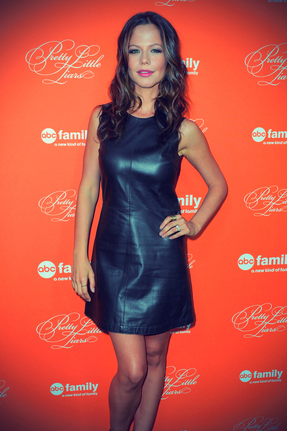 Tammin Sursok at Screening Of ABC Family's Pretty Little Liars