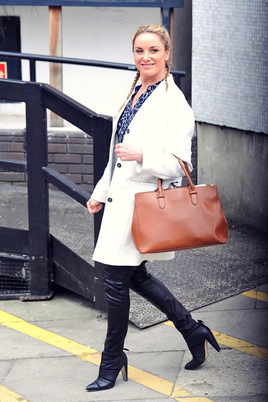 Tamzin Outhwaite leaving ITV Studios