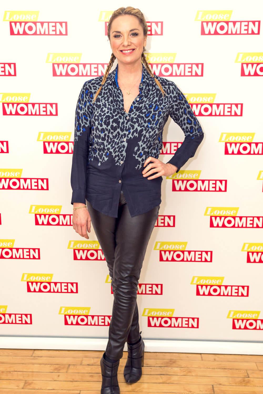 Tamzin Outhwaite at Loose Women
