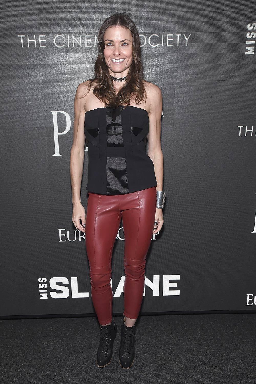 Tara Westwood attends a Cinema Society screening of EuropaCorp's Miss Sloane