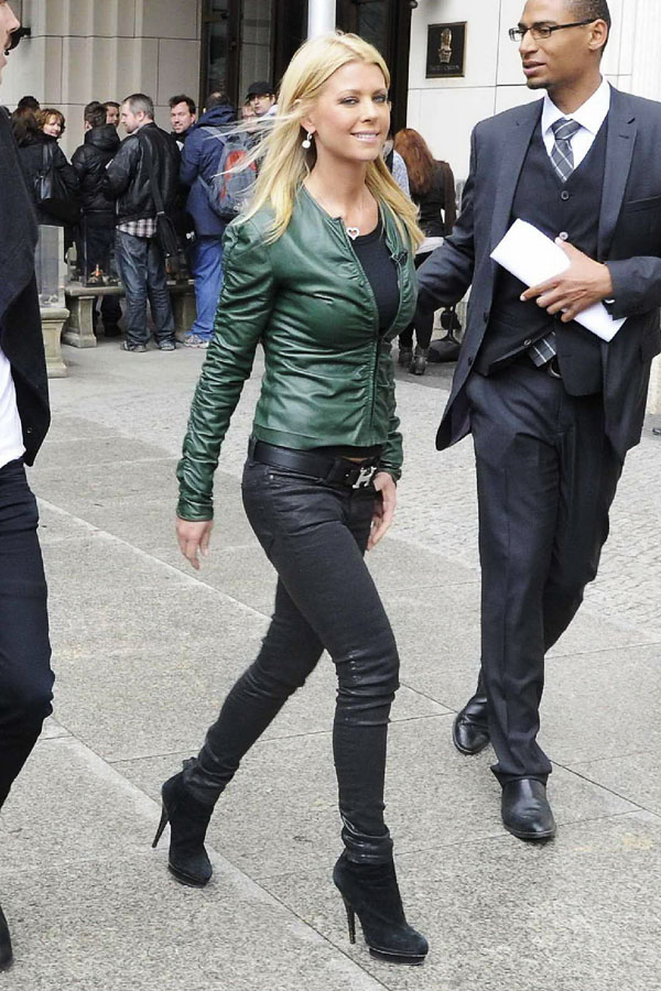 Tara Reid out and about in Berlin