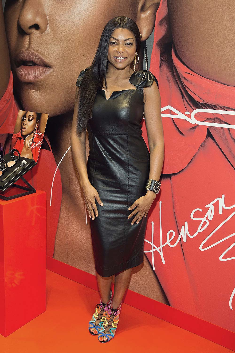 Taraji P Henson at MAC Michigan Avenue