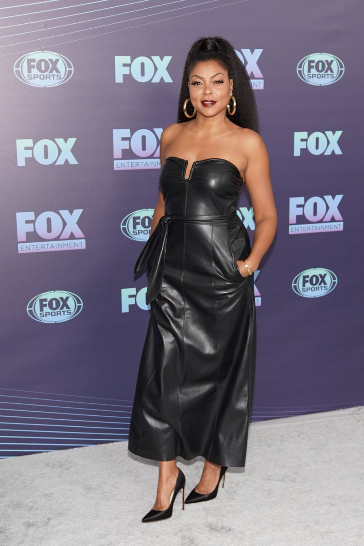 Taraji P Henson attends Fox Upfront Presentation