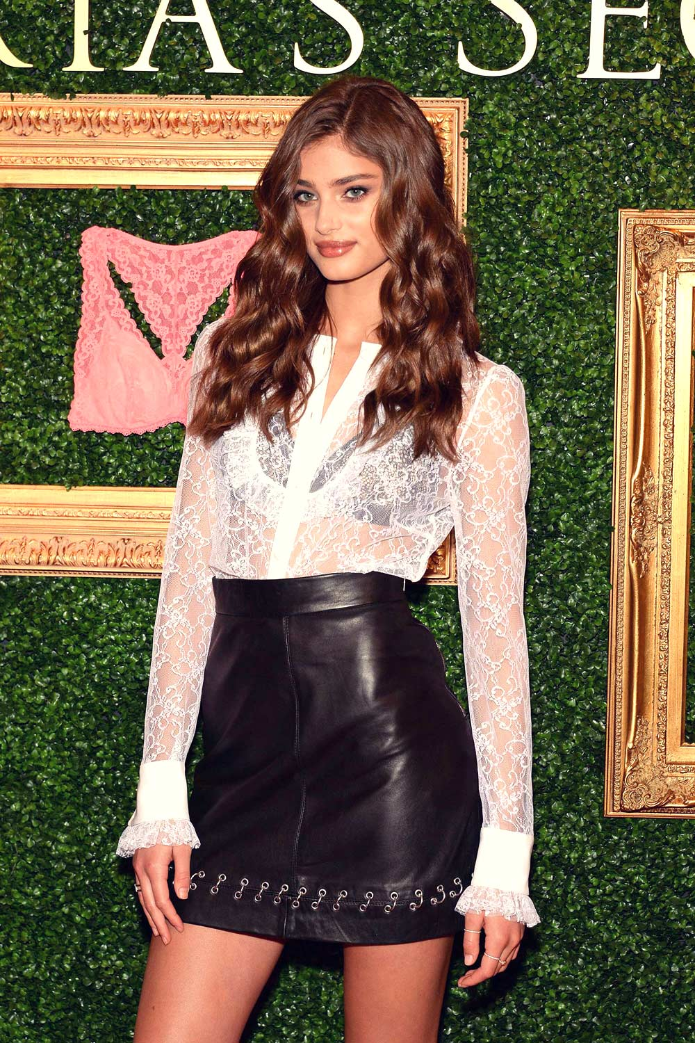 Taylor Hill attend Victoria's Secret Bralette Collection Launch