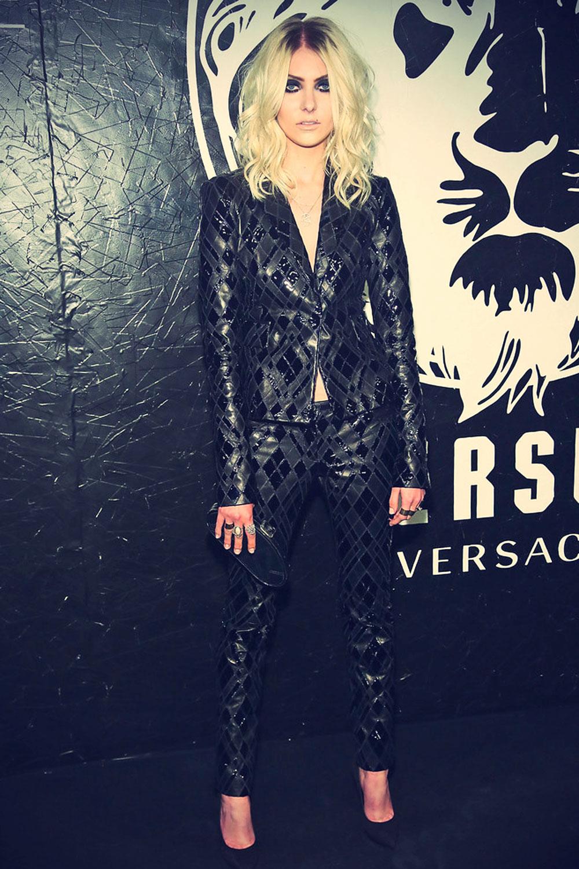 Taylor Momsen attends Versus Versace Launch