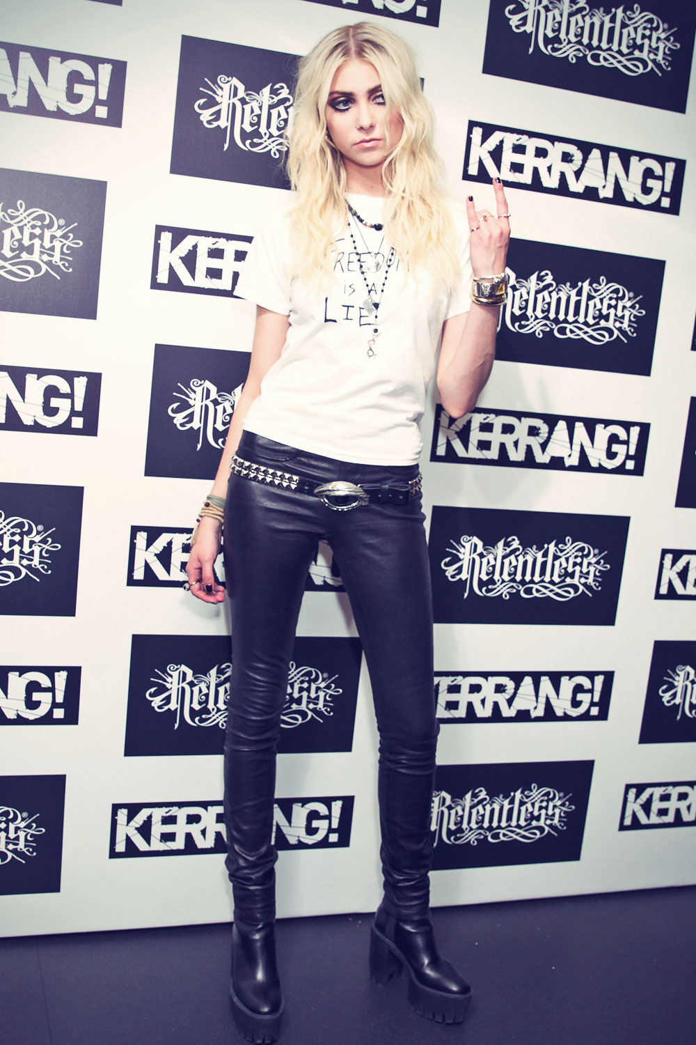 Taylor Momsen attends Kerrang Awards at the Troxy
