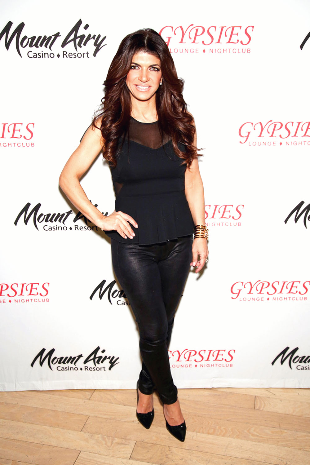 Teresa Giudice Appears At Mount Airy Resort Casino For A