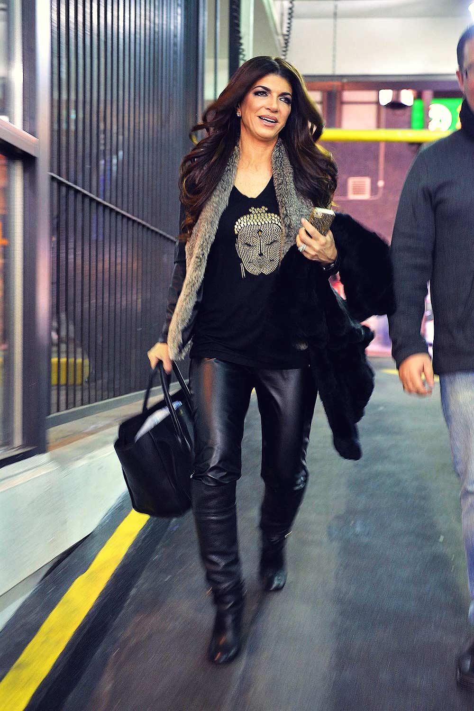 Teresa Giudice out in New York