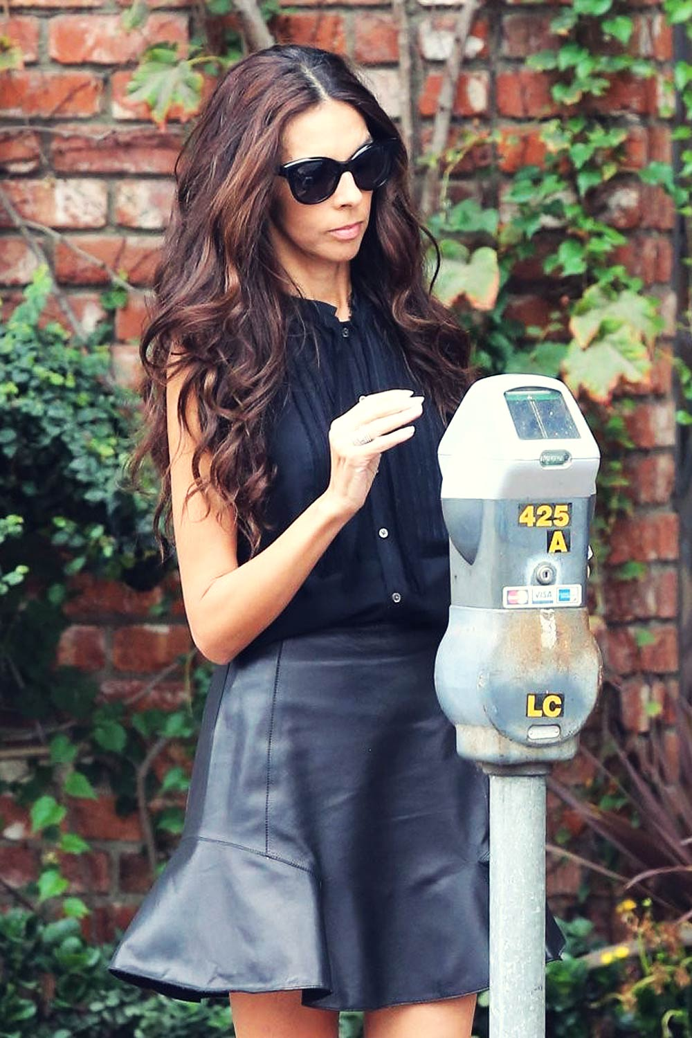 Terri Seymour spotted out in Beverly Hills