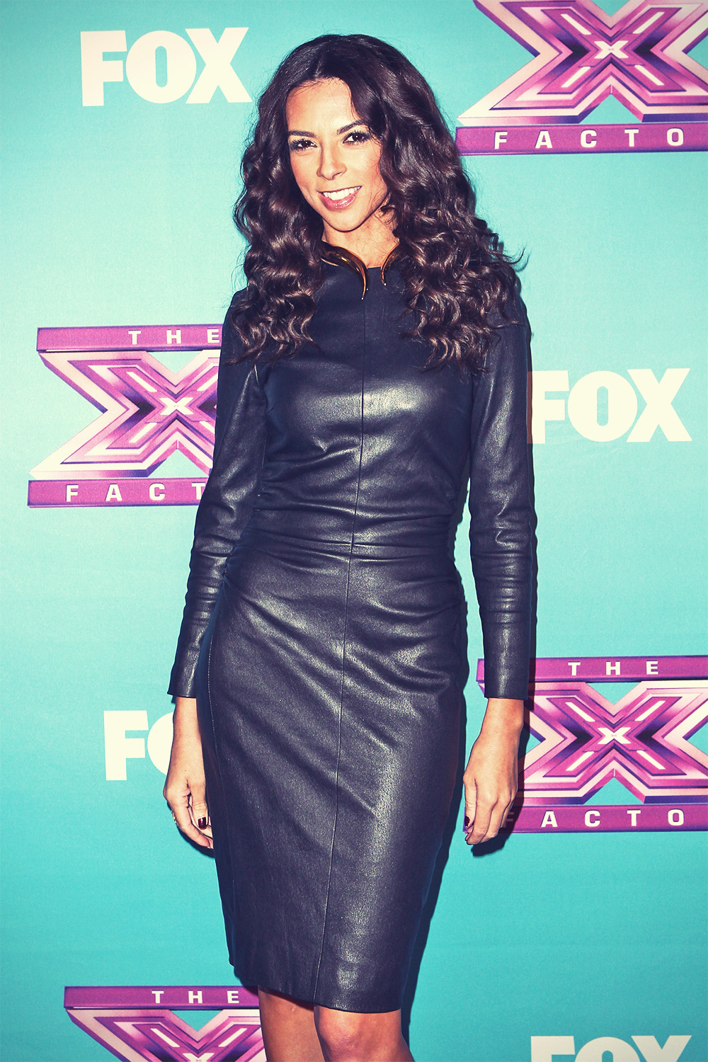Terri Seymour at Fox's The X Factor Season Finale Night