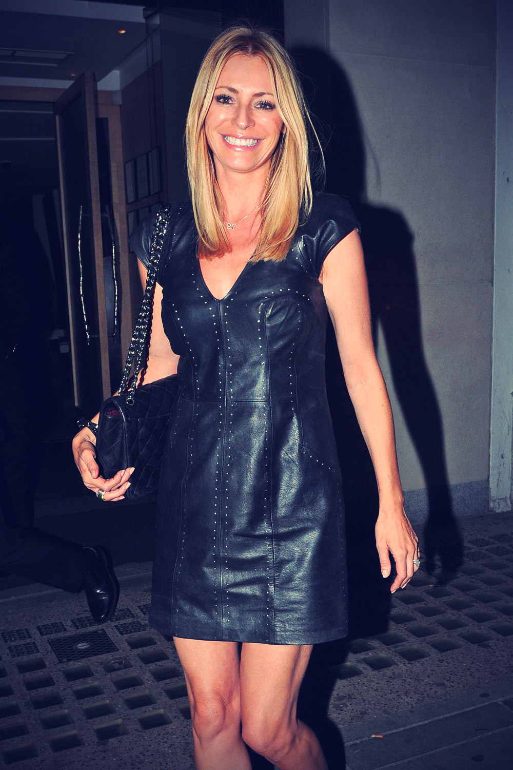 Tess Daly at Nobu London