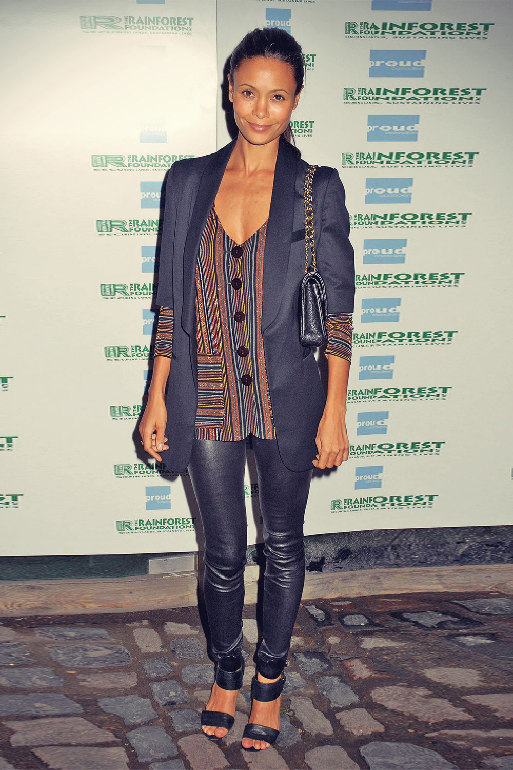 Thandie Newton attends The People Of The Forest viewing