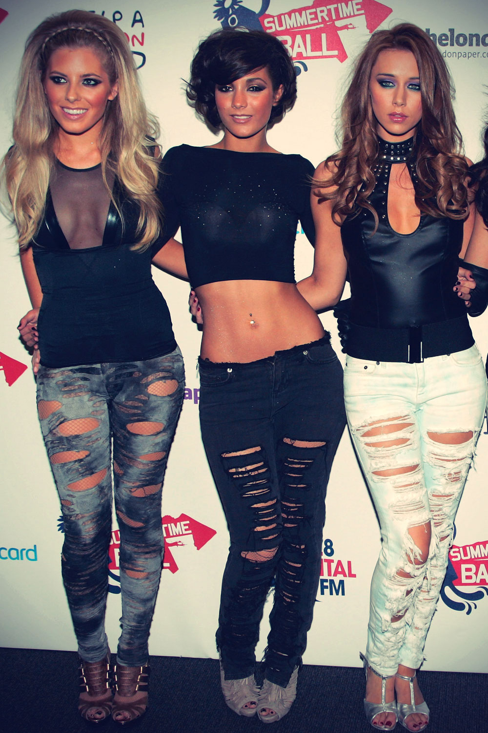 The Saturdays at Capital FM Summertime Ball