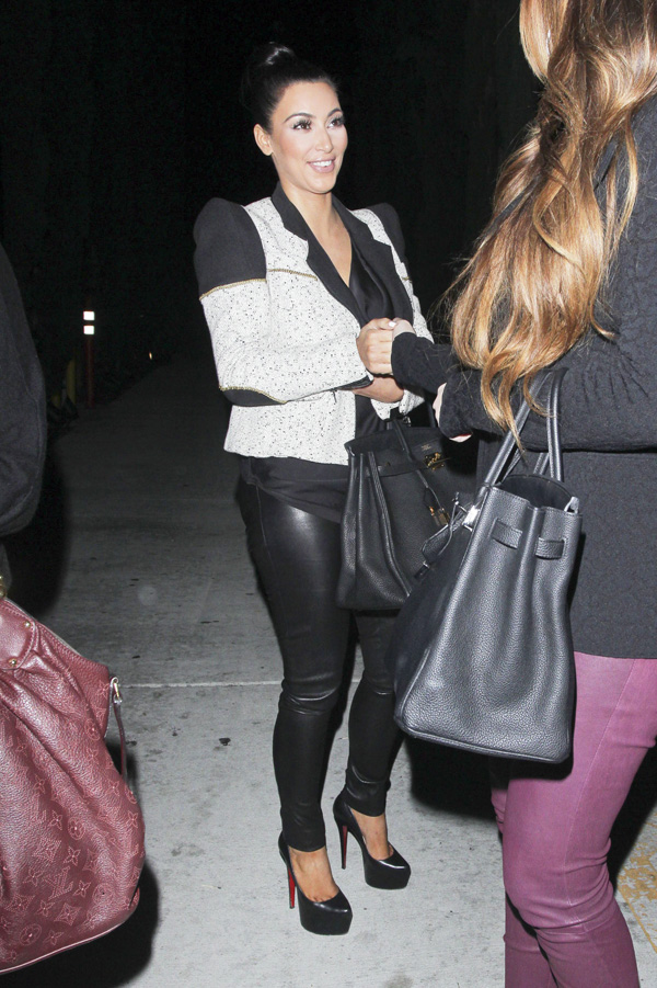 The Kardashians dinner at Nobu in West Hollywood