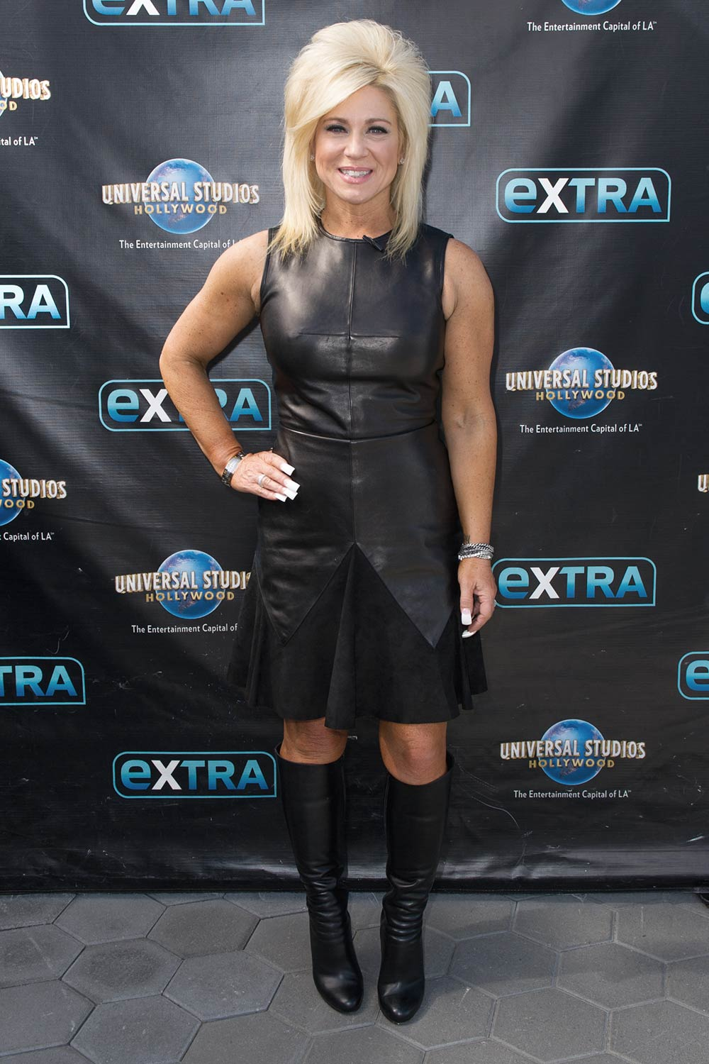 Theresa Caputo Visits Hollywood Today Live Leather