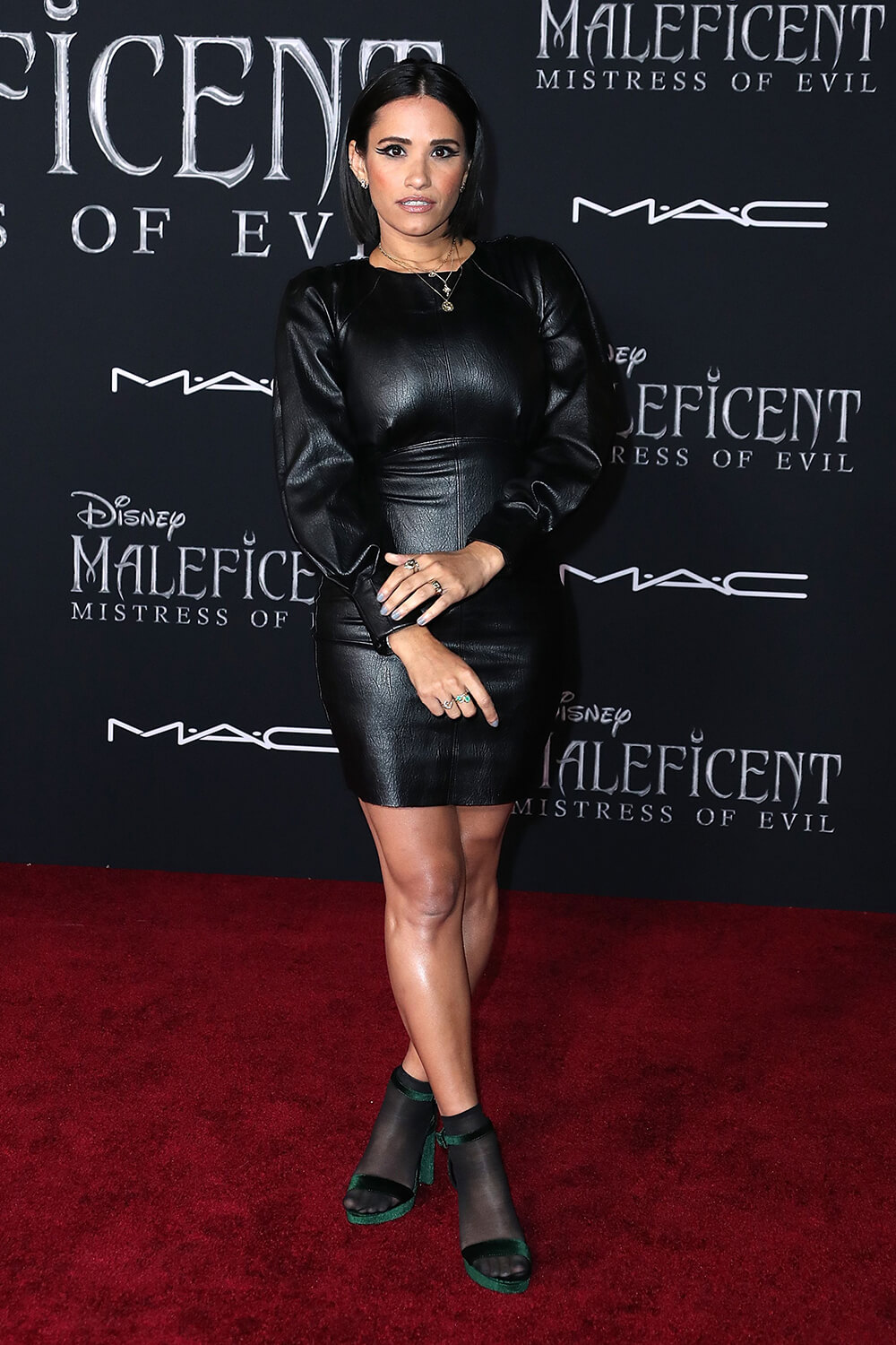 Tiffany Smith attending Maleficent Mistress of Evil' film premiere