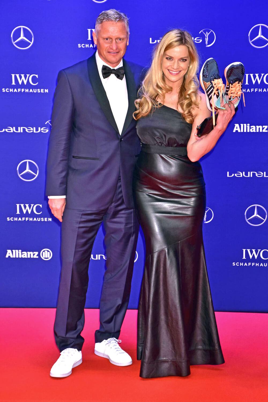 Tina Blocher attends Laureus World Sports Awards 2016