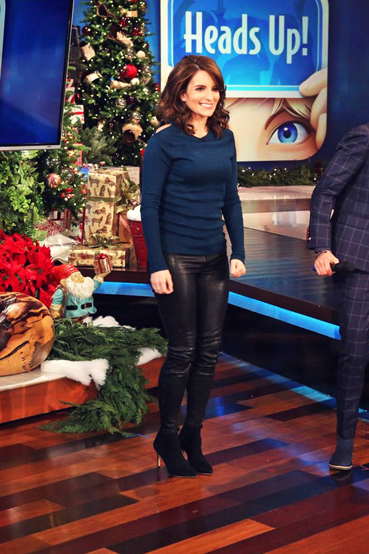 Tina Fey appearance at Ellen DeGeneres show