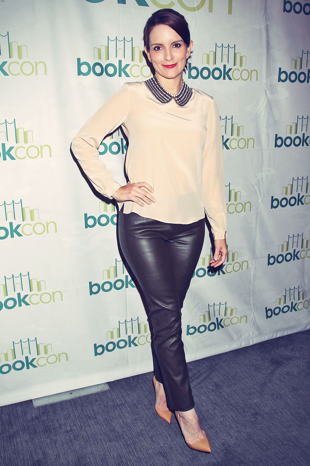 Tina Fey attends BookCon event held at the Jacob K. Javits Center