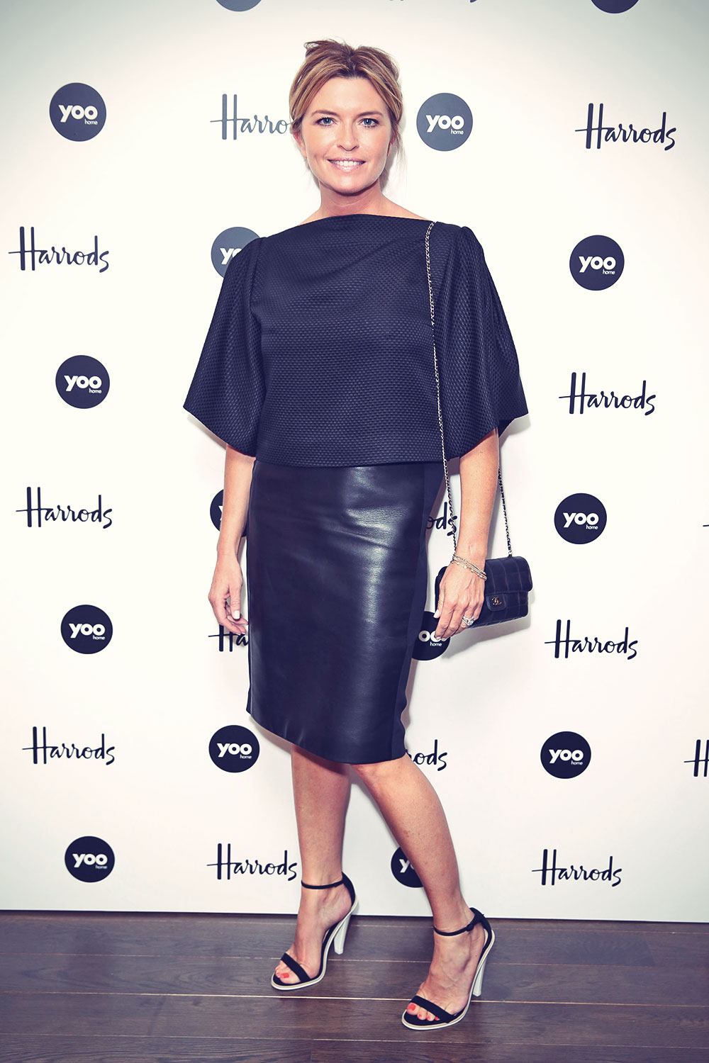 Tina Hobley attends Yoo Home at Harrods launch