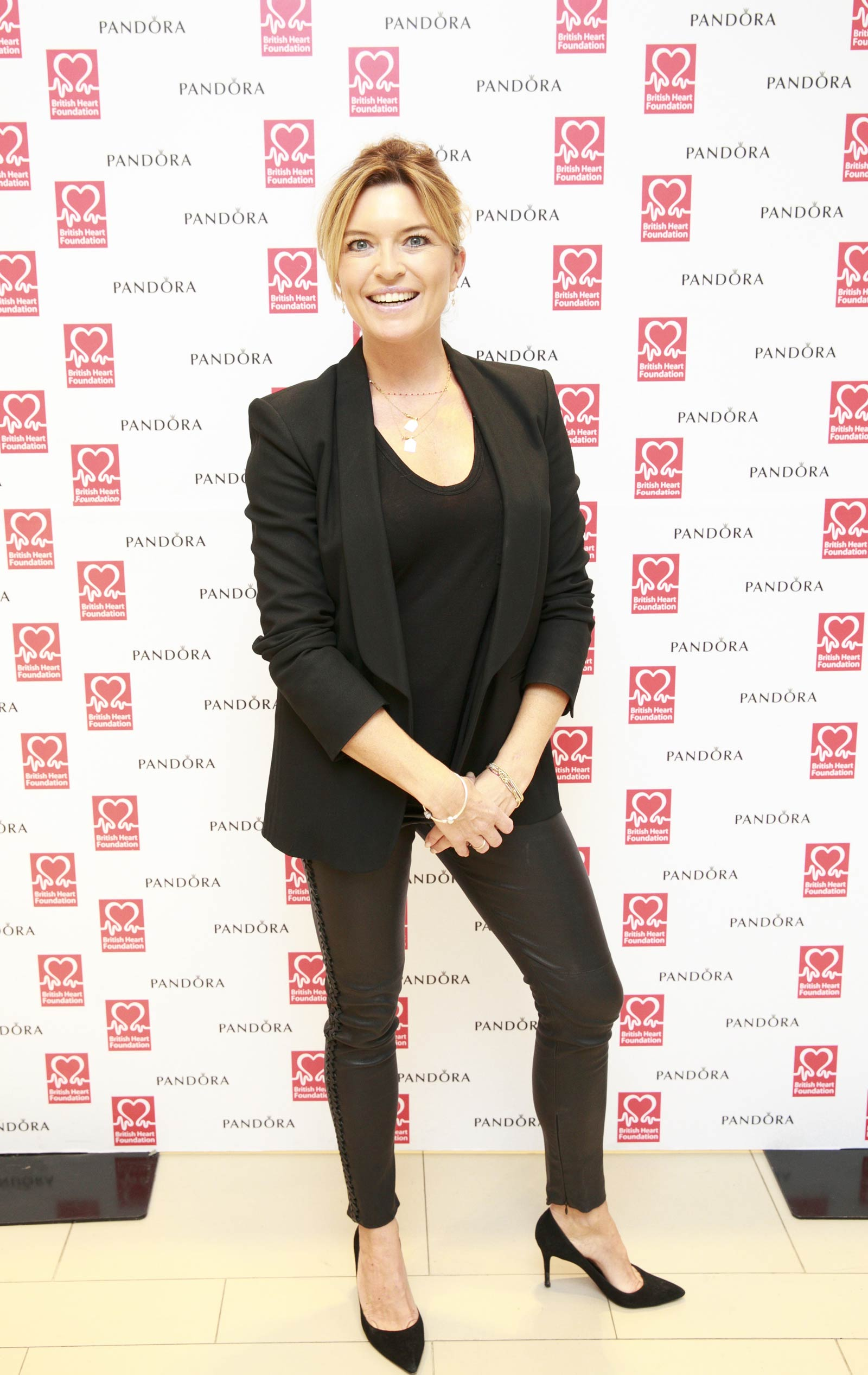 Tina Hobley attends Pandora Lunch for British Heart Foundation