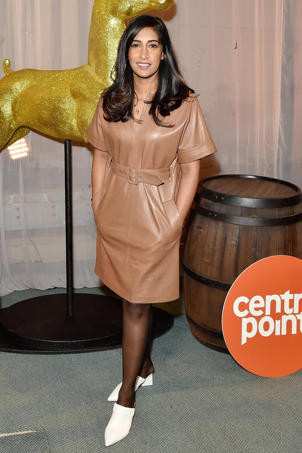 Tina Daheley attends Centrepoint's Ultimate Pub Quiz Event