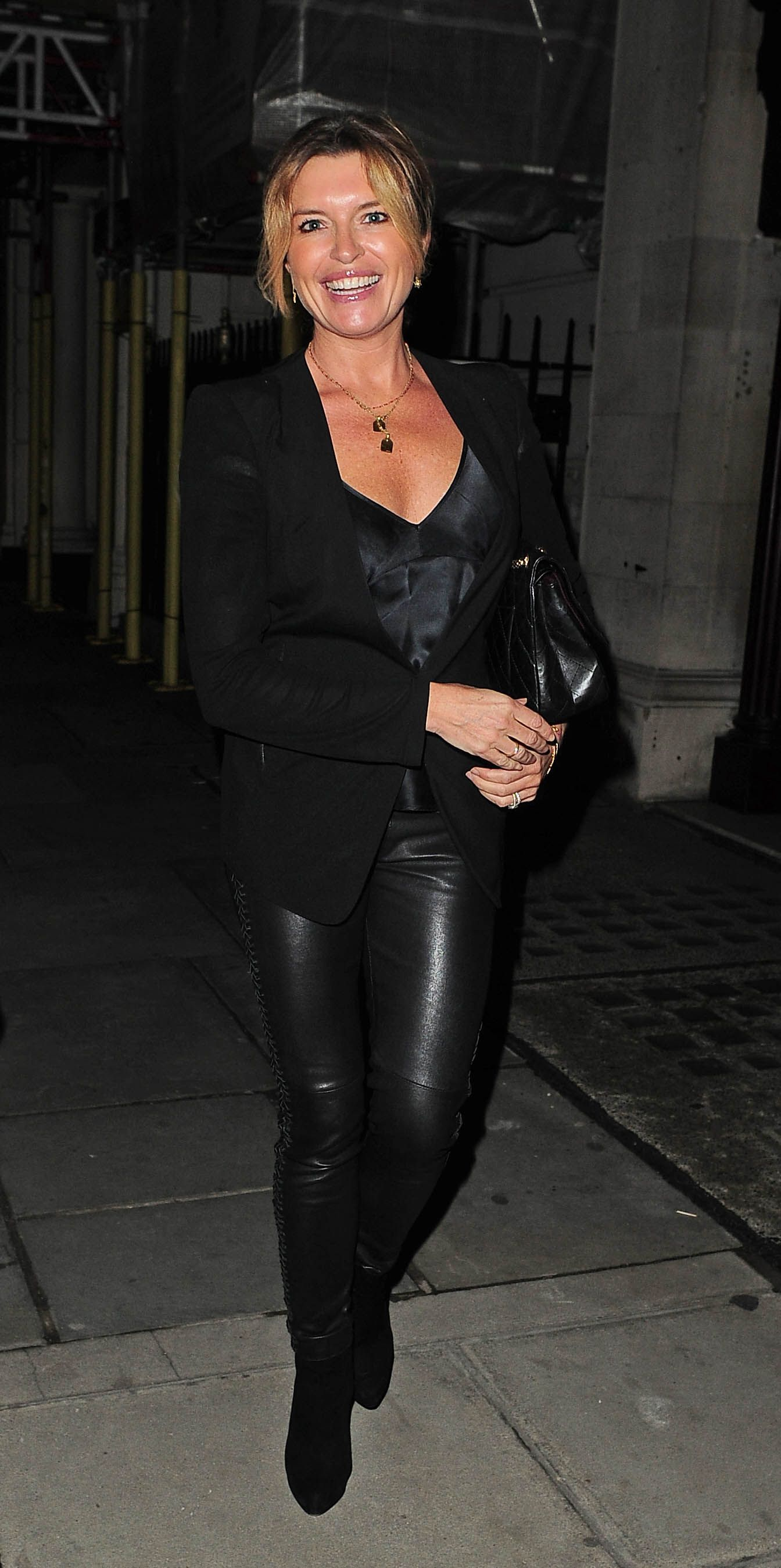 Tina Hobley attends Shalit OBE Party London