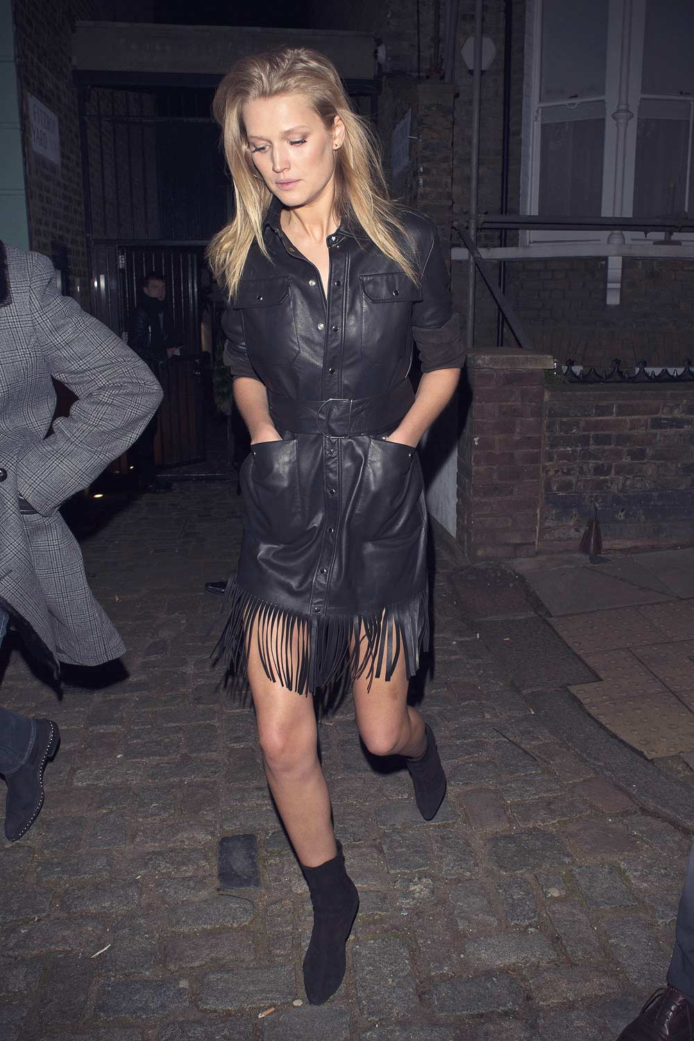 Toni Garrn attends London Fashion Week afterparty