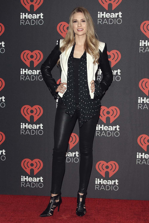Mini Las Vegas >> Tori Anderson attends the 2016 iHeartRadio Music Festival - Leather Celebrities