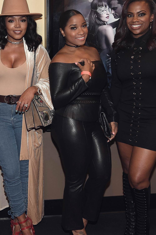 Toya Wright Attends At Fifty Shades Darker Atlanta Private