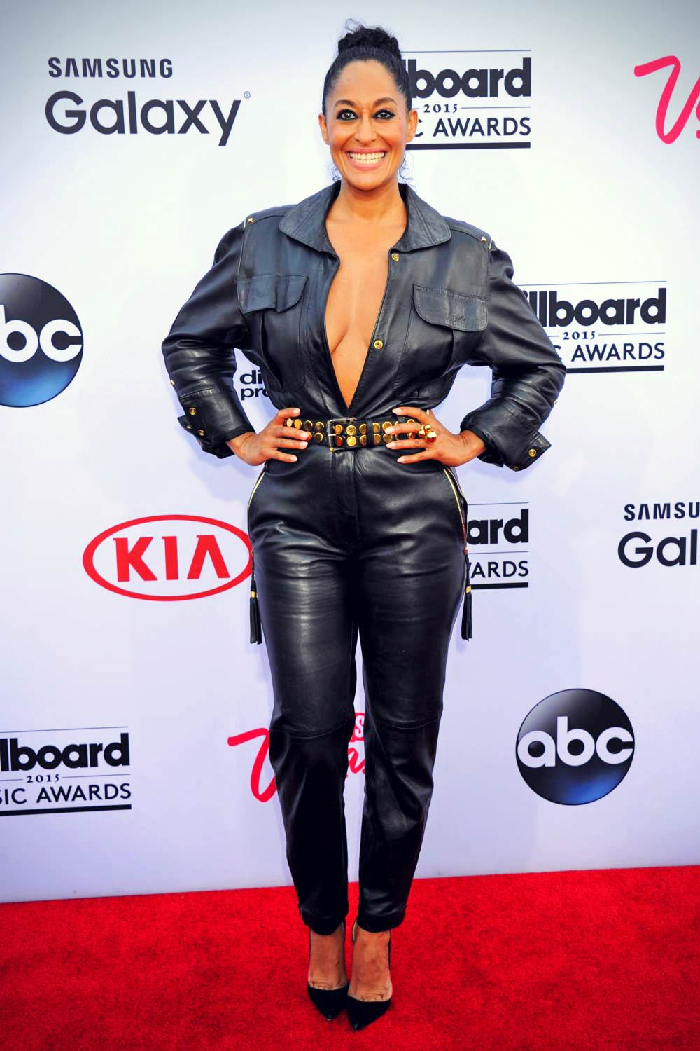 Tracee Ellis Ross attends the 2015 Billboard Music Awards