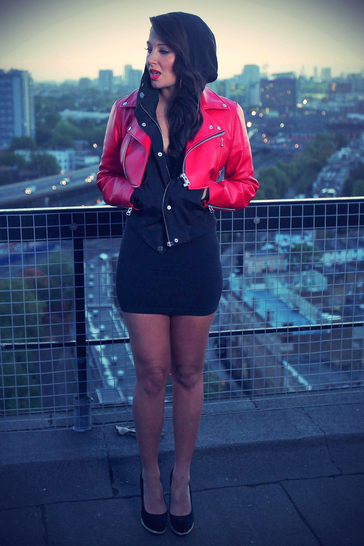 Tulisa Contostavlos video shoot in Central london