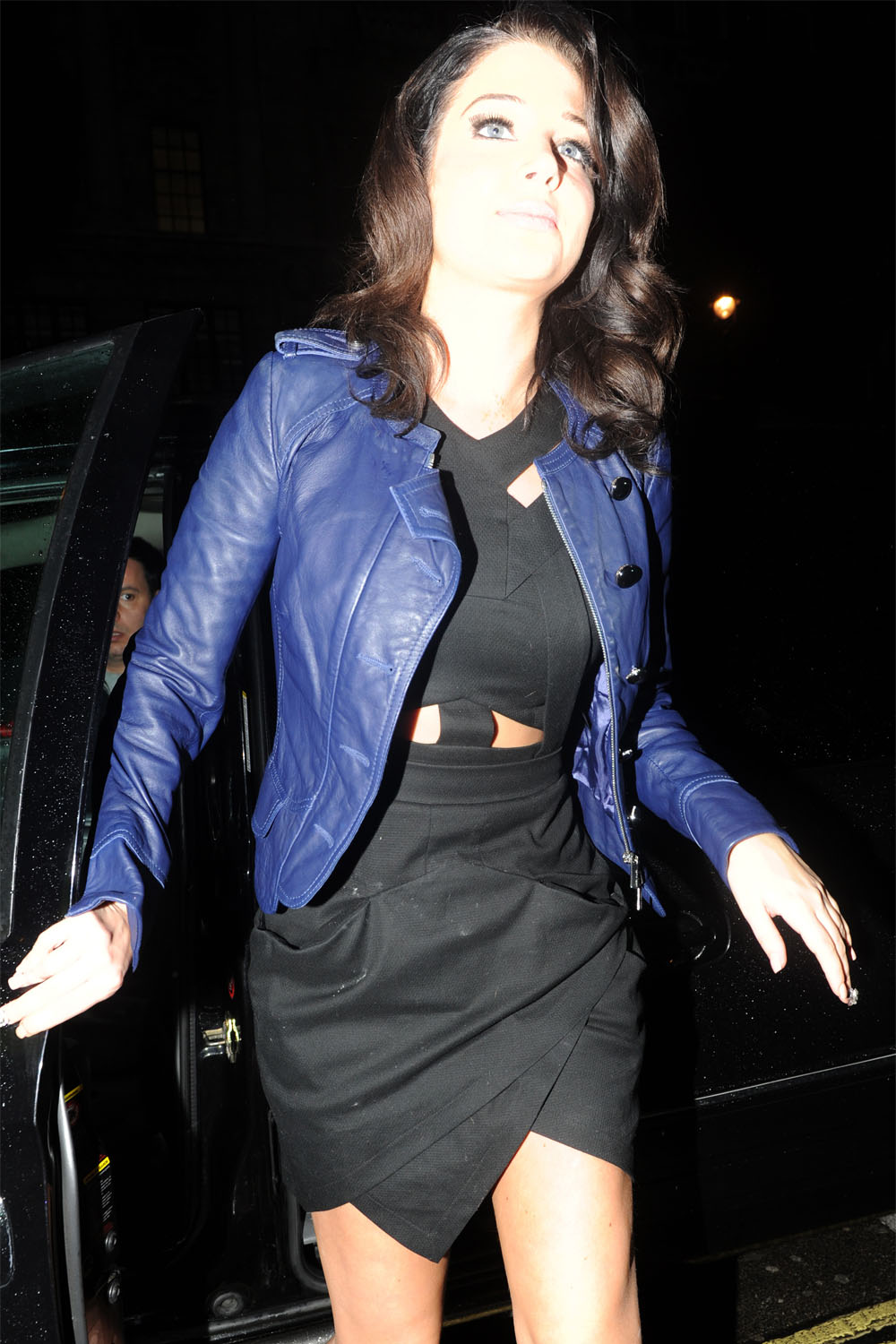 Tulisa Contostavlos at Aura club in London