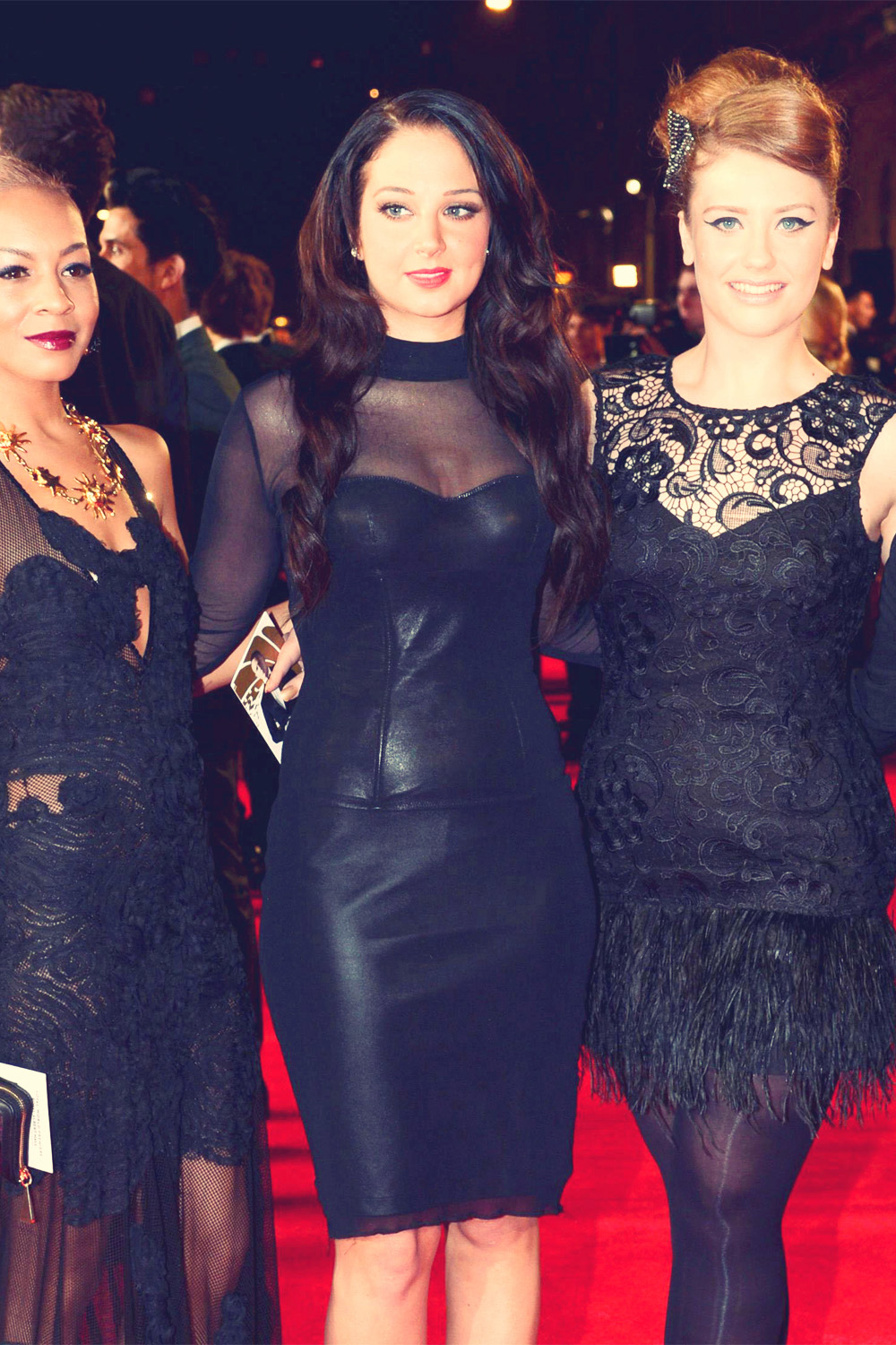 Tulisa Contostavlos at James Bond Skyfall World Premiere