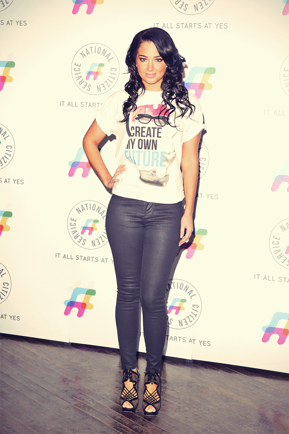 Tulisa Contostavlos at National Citizen Service launch