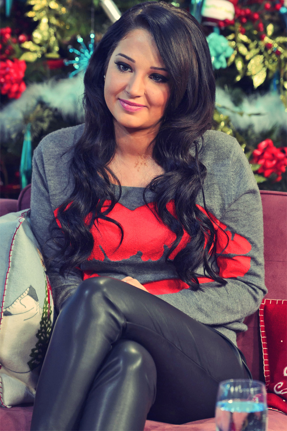 Tulisa Contostavlos at This Morning