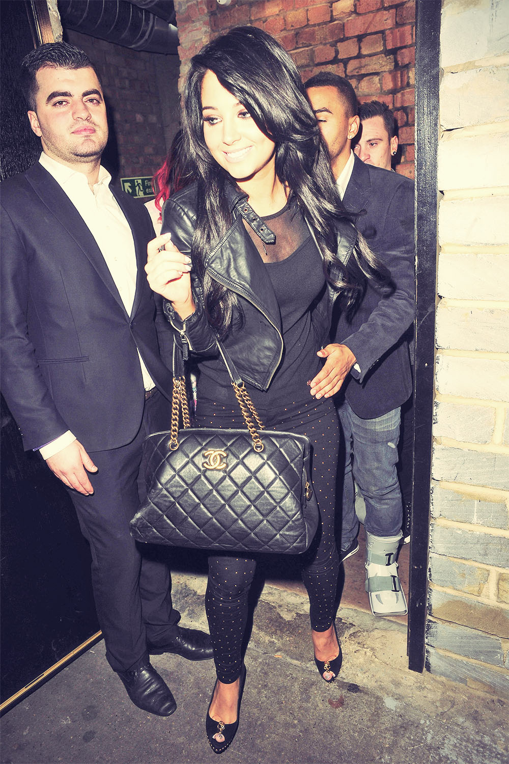 Tulisa Contostavlos out and about candids