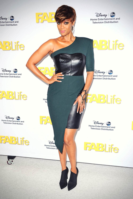 Tyra Banks at 2015 Disney/ABC TCA Summer Press Tour